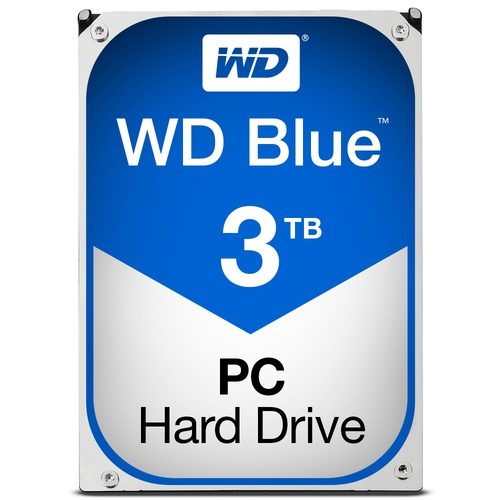 "WD Caviar Blue 3To SATA-6GB 3.5"" 5400trs/min 64Mo"