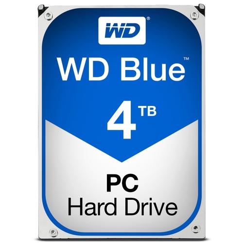 """WD Caviar Blue 4To SATA-6Gb 3.5"""" 5400trs/min 64 Mo"""