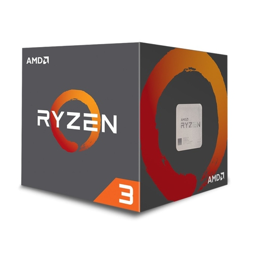 AMD Ryzen 3 1200 - Socket AM4 - 4 Coeurs - 3.1/3.4Ghz  - 10Mo
