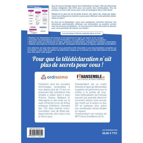 ORDISSIMO Livre de fiches pratiques tome 2 : déclarer ses impôts