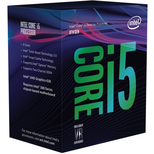 INTEL Core i5 8400 - Socket 1151 - 6 Coeurs - 2.8/4Ghz - 9Mo