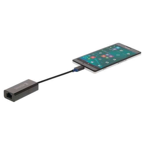 KONIG Adaptateur USB 3.1 USB-C (M) - Ethernet RJ45 (F)