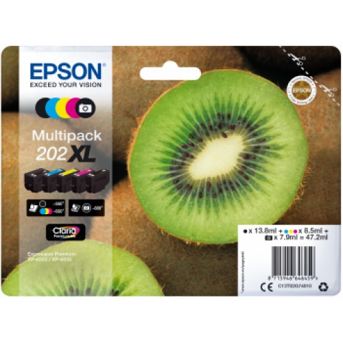 EPSON Pack Cartouches 202XL 5 Cartouches