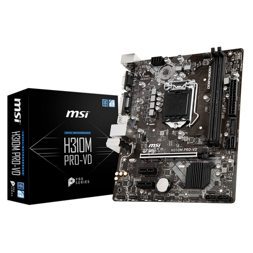 MSI H310M PRO-VD - Socket 1151 - DDR4 - M-ATX