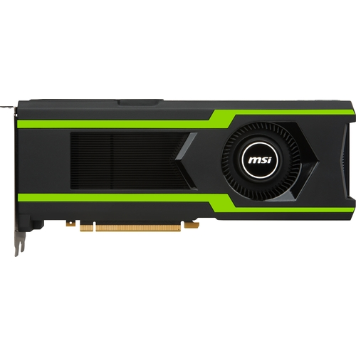 MSI Nvidia GeForce GTX1080-Ti AERO 11G OC - 11Go - PCI-e - HDMI 3xDP