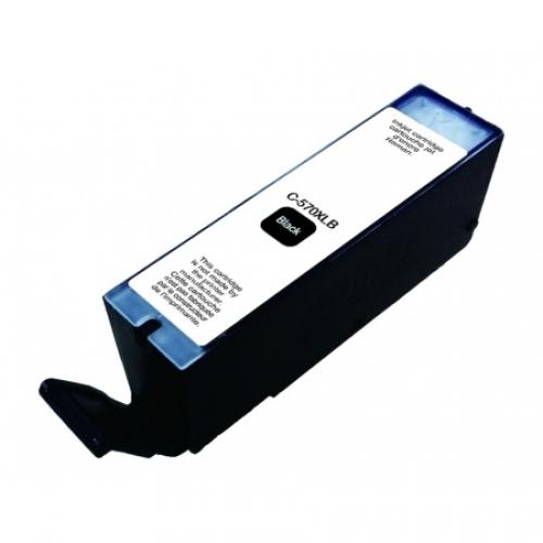 UPRINT Cartouche compatible Canon CLI-570 XL B - Noir