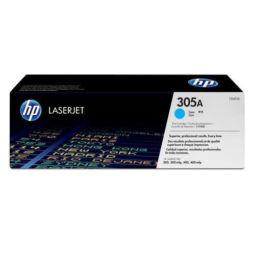 HP Toner Laser 305A Cyan