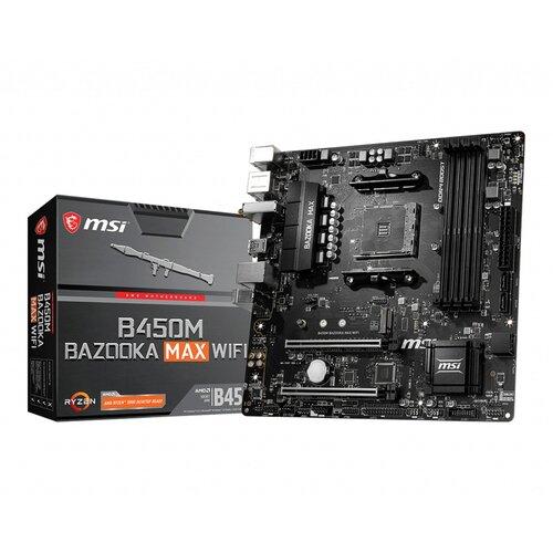 MSI B450M Bazooka Max Wifi AM4 DDR4 MATX