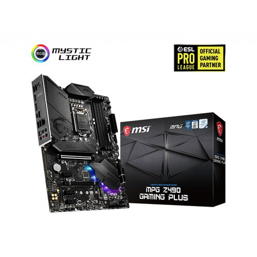 MSI Z490 Gaming Plus LGA1200 DDR4 ATX