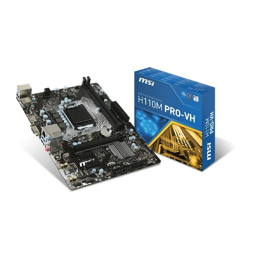 MSI H110M PRO-VH - Socket 1151 - DDR4 - M-ATX