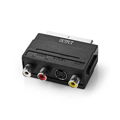 Nedis Numeriseur Vidéo avec Câble AV/Peritel /Soft inclus USB 2.0
