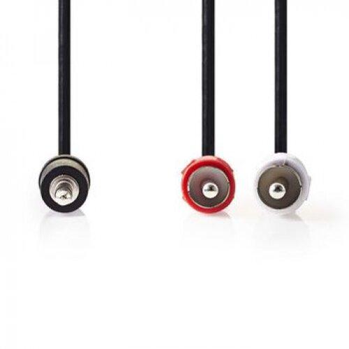 Nedis Câble Stéréo Jack 3.5mm (M) - RCA (M) 1.50m