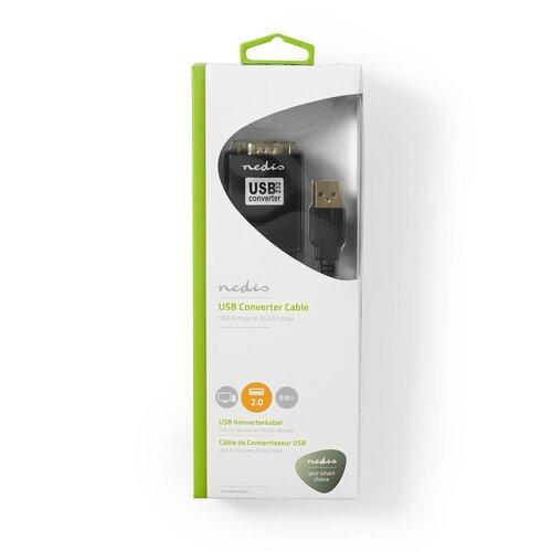 Nedis Câble adaptateur Serie/USB 2.0 compatible win 10