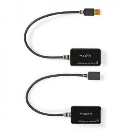 Nedis Extendeur USB 50.00m maxi USB 2.0 sans alimentation