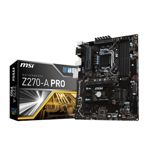 MSI Z270-A PRO - Socket 1151 - DDR4 - ATX