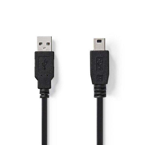 Nedis Câble USB (A) Mini USB 5 Broches (M) 2.00m