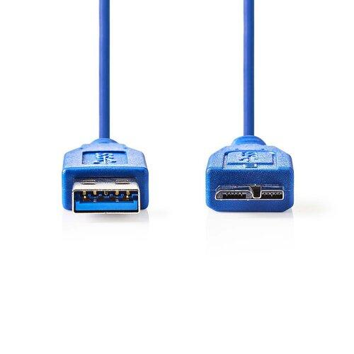 Nedis Câble USB3.0 A (M) - Micro B (M) 0.50m