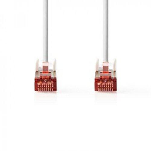 Nedis Câble réseau Cat 6 S/FTP RJ45 (M-M) 2.00m Blanc