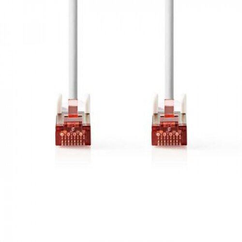 Nedis Câble réseau RJ45 S/FTP Cat6 20.0m Blanc