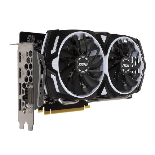 MSI Nvidia GeForce GTX1060 OC Armor 3G OCV1 - 3Go - PCI-e 16X - 2xHDMI DVI 2xDP