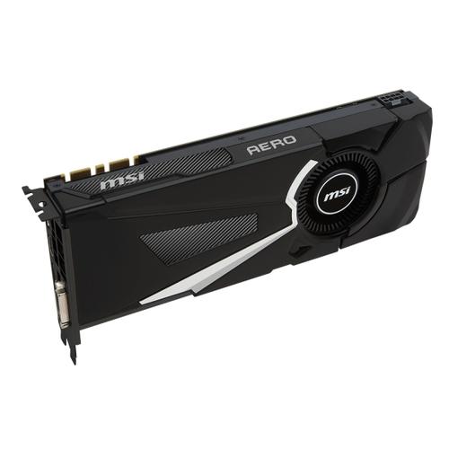 MSI Nvidia GeForce GTX1070 Aero 8G OC - 8Go - PCI-e 16X - HDMi DVI 3xDP