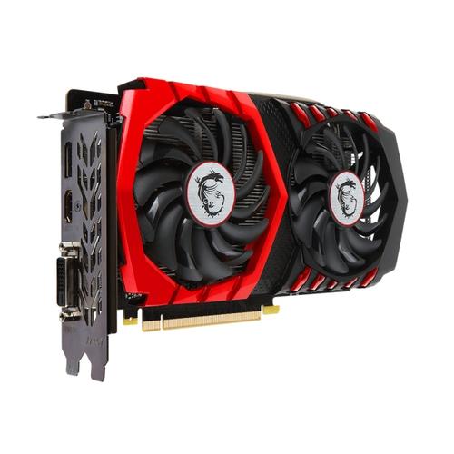 MSI Nvidia GeForce GTX1050-Ti Gaming 4G - 4Go - PCi-e 16X - HDMI DVI DP