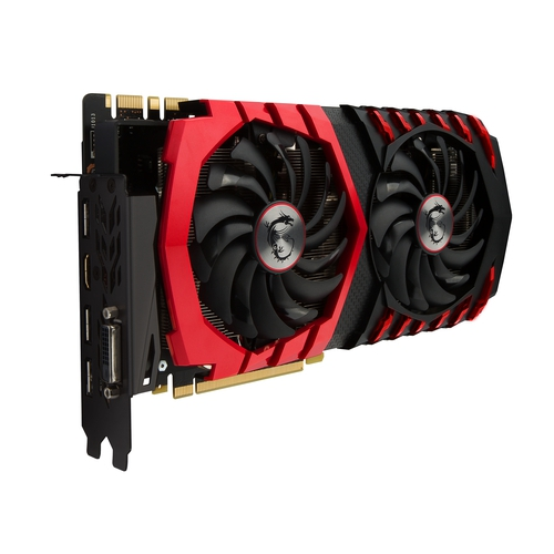 MSI Nvidia GeForce GTX1080 Gaming X 8G - 8Go - PCI-e 16X - HDMI DVI 3xDP