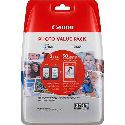 CANON Pack de cartouche PG-545XL/CL-546XL Noir et couleur