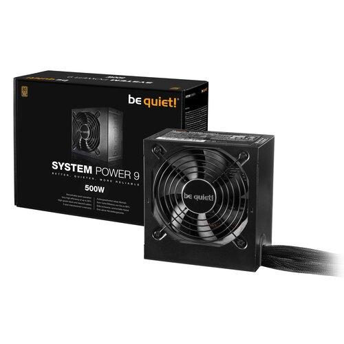 BE QUIET! System Power 9 500W 80+ Bronze