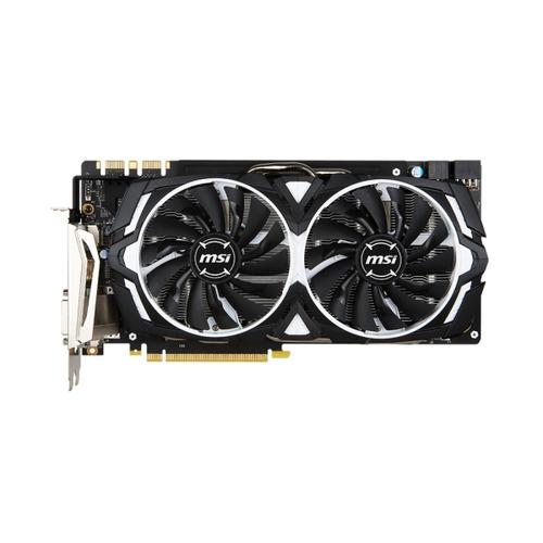 MSI Nvidia GeForce GTX1080 Armor 8G OC - 8Go - PCI-e 16X - HDMi DVI 3xDP