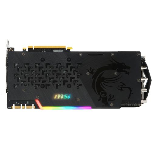 MSI Nvidia GeForce GTX1080-Ti Gaming X Trio - 11Go - PCI-e - HDMI DVI 2xDP