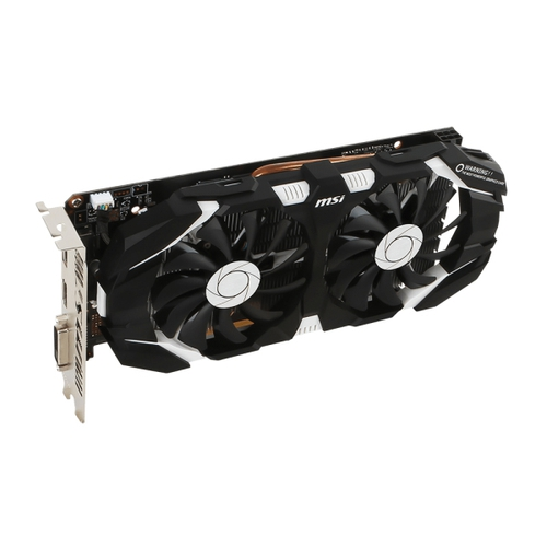 MSI Nvidia GeForce GTX1060 6GT OCV1 - 6Go - PCI-e X16 - HDMI DVI DP