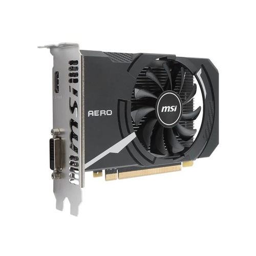 MSI Nvidia GeForce GT1030 Aero ITX 2G OC - 2Go - PCI-e 16X - HDMI DVI
