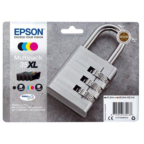 Epson Kit de cartouche 35XL 2600 pages noires /1900 pages couleurs