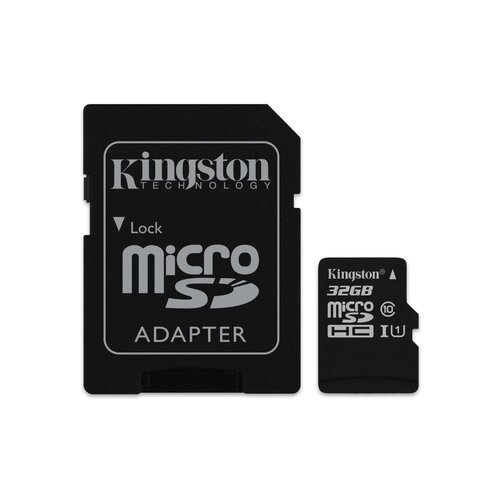 Kingston Micro SD 32GB Class 10 UHS-I