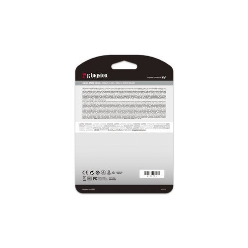 Kingston SSD M.2 Nvme Pcie 3.0 4X 500Go 3000Mo/s
