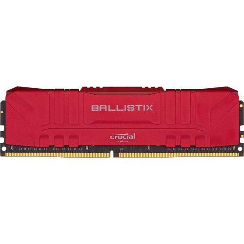 Ballistix Dimm DDR4 8Go 3200Mhz Red