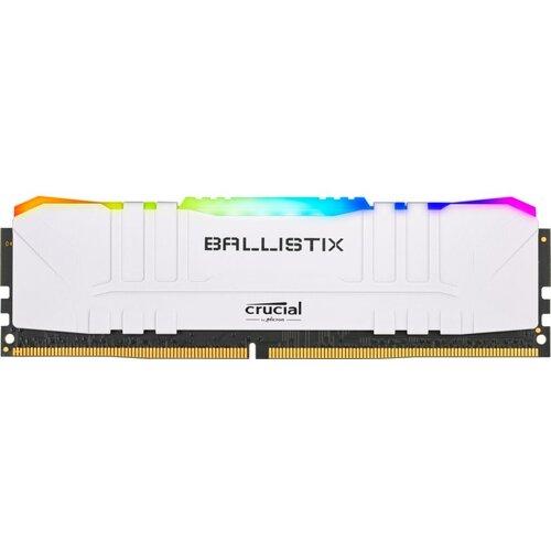 Crucial Ballistix Dimm DDR4 32Go (2x16Go) White RGB 3600Mhz