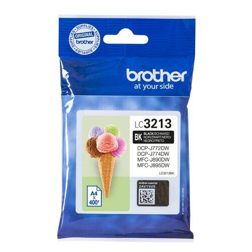 BROTHER cartouche LC3213BK - noir