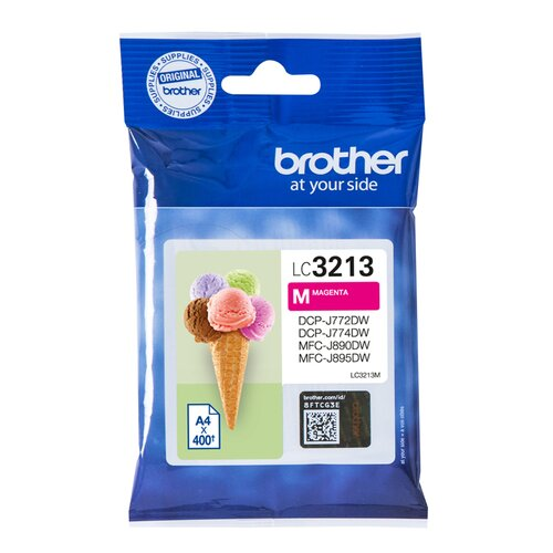 BROTHER cartouche LC3213M - Magenta