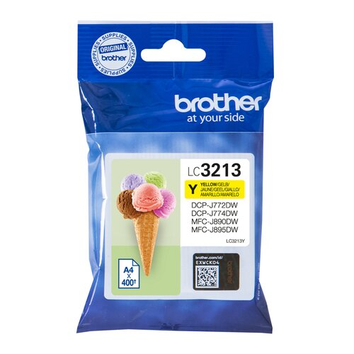 BROTHER cartouche LC3213Y - Jaune