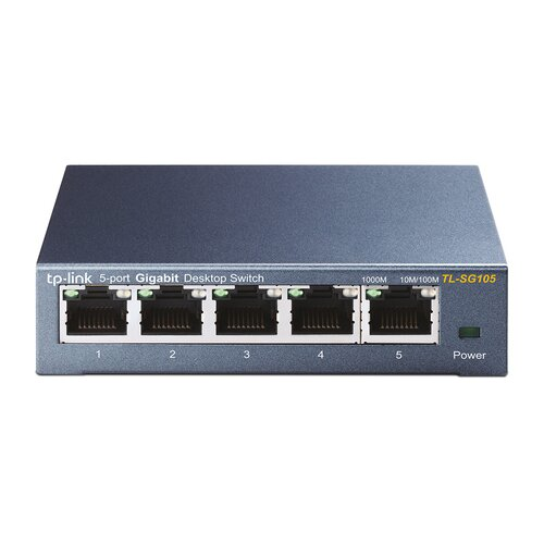 TP-LINK TL-SG105 Switch Gigabit Ethernet 5 Ports