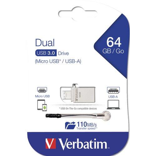 Verbatim Store'n Go Clef USB 3.0 64Go