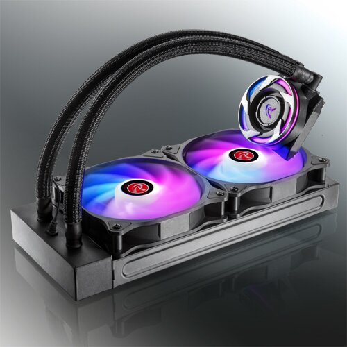 RAIJINTEK EOS RGB Rainbow Watercooling 2x120mm