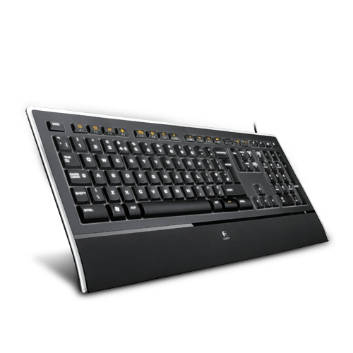 LOGITECH Illuminated Keyboard K740 - Rétro-éclairé blanc - Filaire