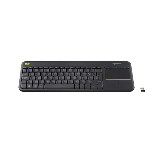 LOGITECH Wireless Touch Keyboard K400 Plus - Sans fil