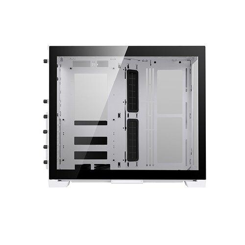 Lian-Li 011 Dynamic Mini Blanc, verre trempé