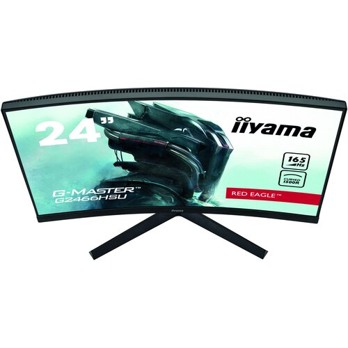 IIYAMA G2466HSU-B1 24'' Incurvé 1080P 165Hz Dalle VA HDMIx2/DP