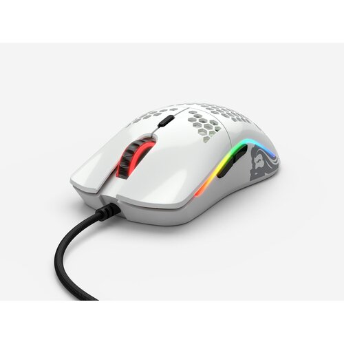 Glorious PC Gaming Race Model O Gaming Mouse White Glossy