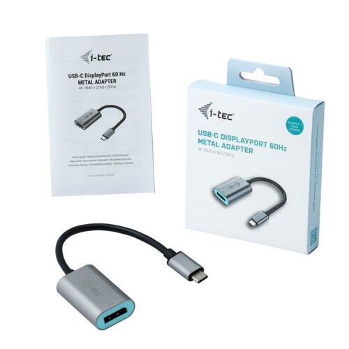 I-TEC Adaptateur USB Type-C vers displayport (M-F) 0.20m